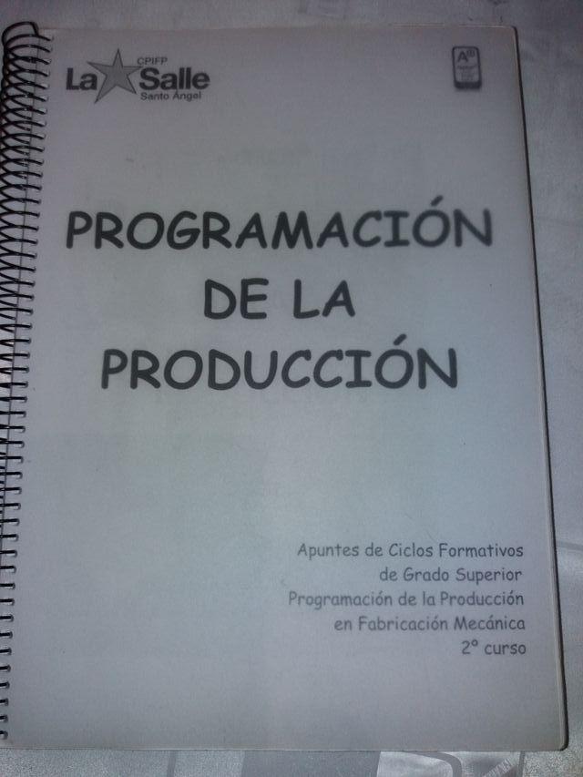 Programación De La Produccion De Segunda Mano Por 5 En