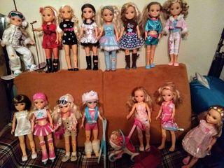 Nancy muñecas con accesorios