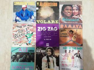 "lote 27 singles vinilos 7"" disco, funk soul,.."
