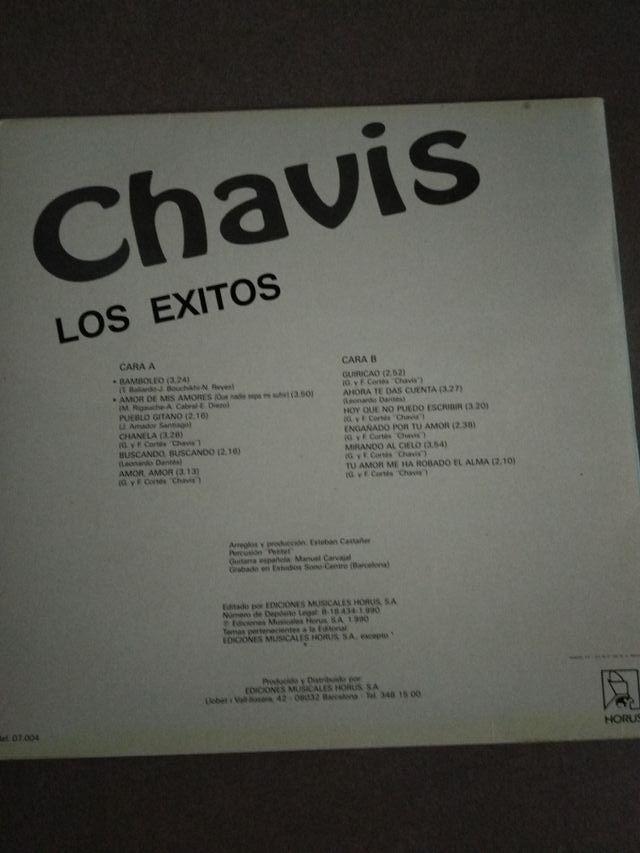 disco de vinilo LP de los chavis