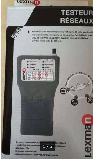 Tester para todo tipo de cables y circuitos.