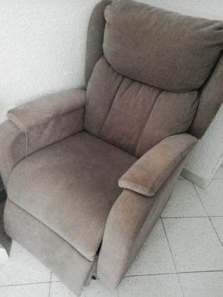 sillón eléctrico reclinable