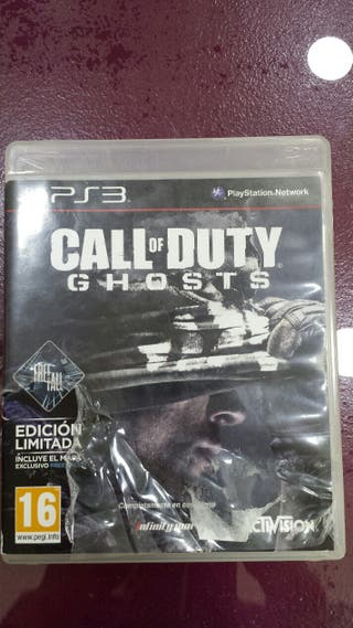 Call of Duty Ghosts Juego Ps3