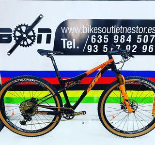 Bicicleta Ktm scarp sonic Xx1 gold nueva