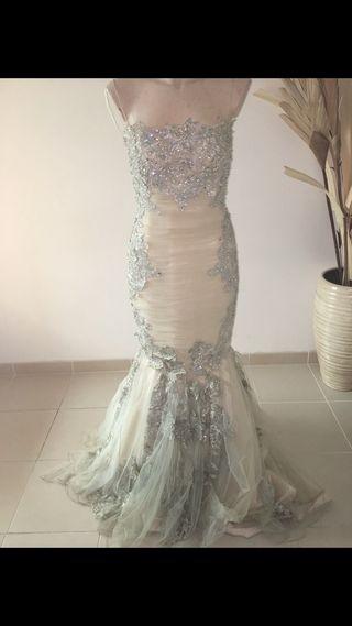 Vestido fiesta boda gitana