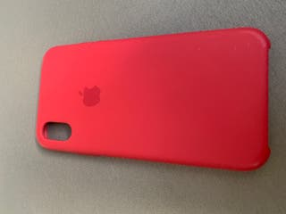Vendo funda iPhone XS red (roja) apple original