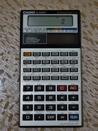 Calculadora científica Casio fx-3600Pv program fx