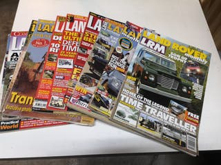 Revistas Land Rover