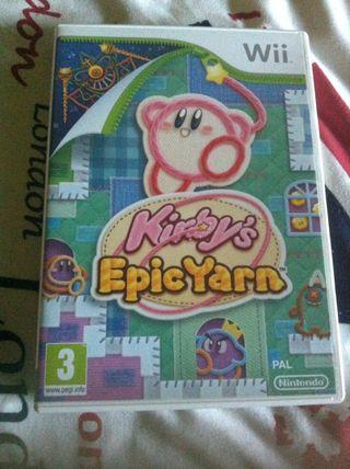 Kirby Epic Yarn Wii Pal Uk