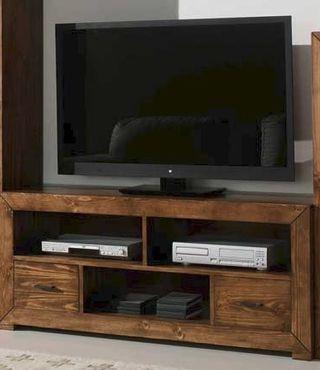 Mueble tv rustico mejicano
