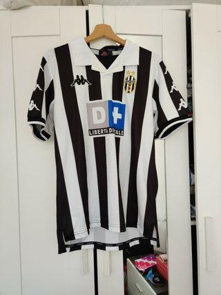 Camiseta retro Juventus 1999 Zidane