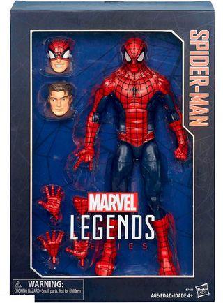 Figura Spiderman Marvel Legends 30 Cm