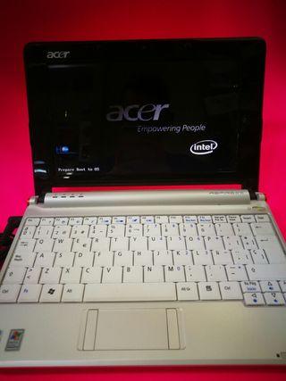 mini portátil Acer Aspire One zg5