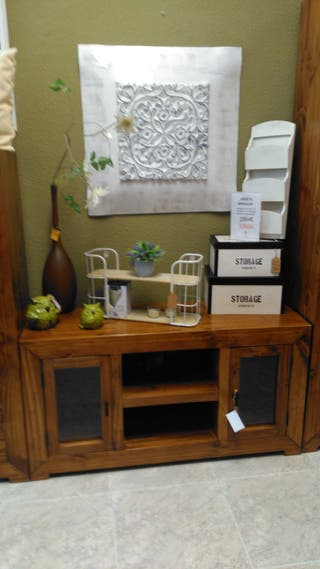 Mueble tv madera 120