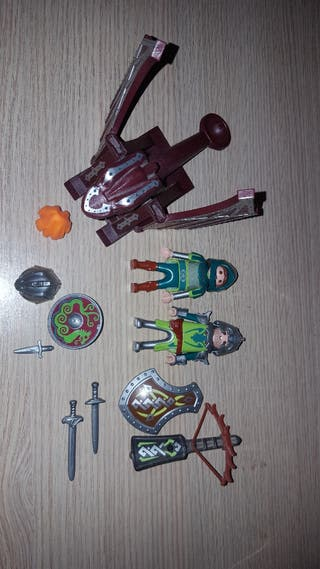 Catapulta del dragón playmobil 4840