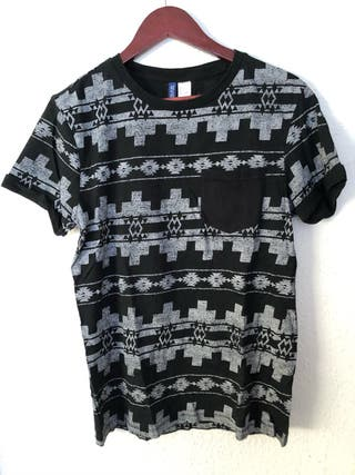 Camiseta estampado etnico