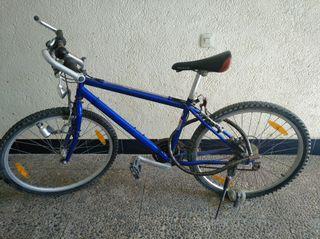 Bicicleta Mountainbike azul