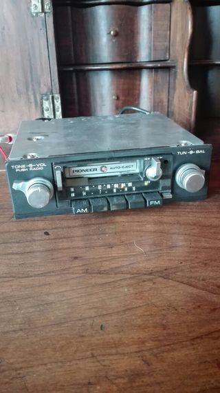 radio cassette de coche pioneer