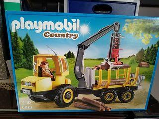 Playmobil camión de leña