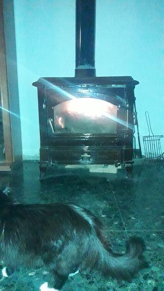 Estufa de leña Efel Nordica