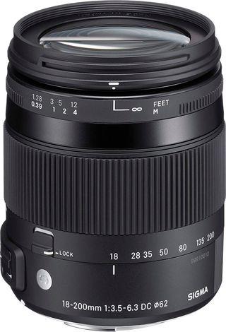 Objetivo Sigma 18-200 para Nikon