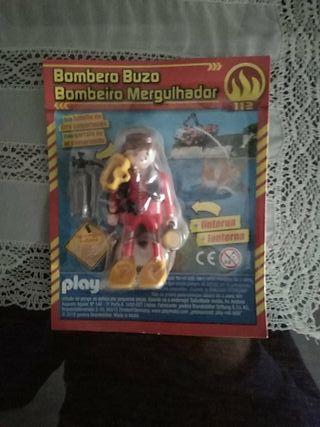 Playmobil bombero buzo