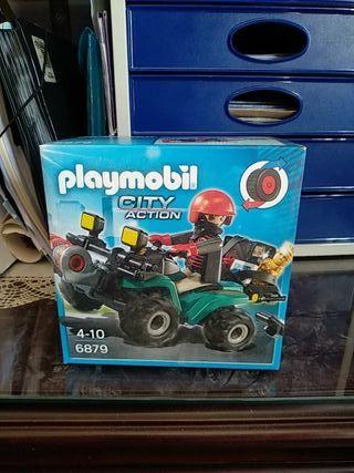Playmobil quad ladrón