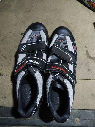 zapatos bici Oxylane Rock Rider talla 41, nuevo!