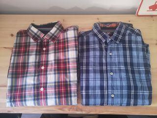 Lote 7 camisas ZARA MASSIMO DUTTI BERSHKA H&M