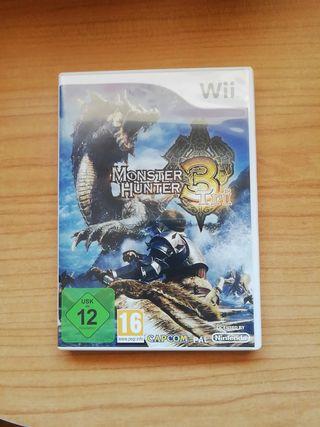 Monster Hunter 3 (Tri) para Wii