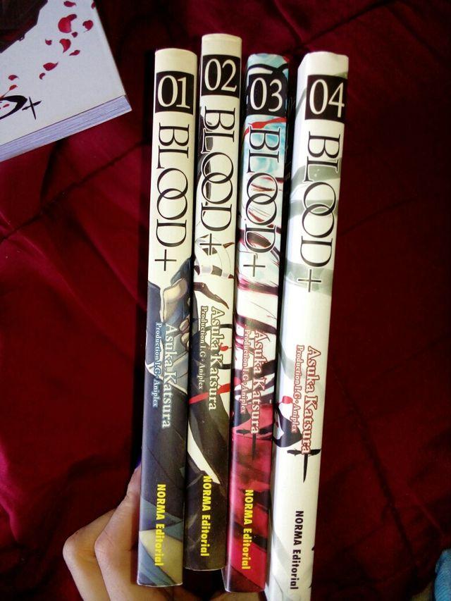 Cómics Manga Blood +