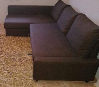 Sofa cama Freiheiten+ 4 Cojines decorativos regalo