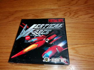 VERTICAL FORCE Virtual Boy Nintendo NUEVO
