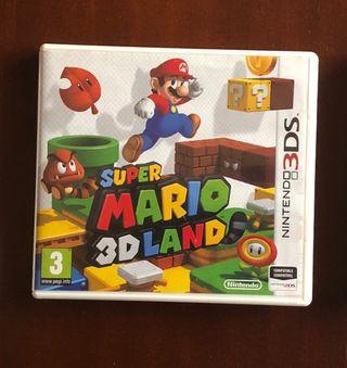 Videojuego SuperMario 3Dland.