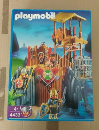 Playmobil 4433. Bastión vikingo.