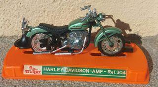 Harley Davidson AMF Shovelhead. Guiloy años 70s