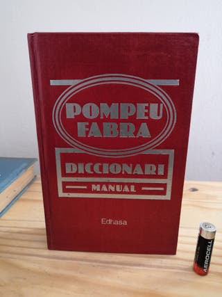 Diccionari manual