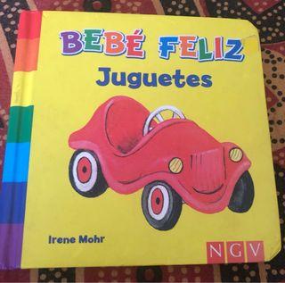 """Libro infantil """"Juguetes"""""""