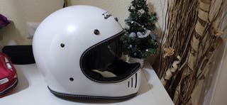 Casco de Moto Vintage Retro cafe racer Off-Road