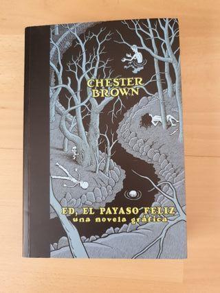 Ed El Payaso Feliz, una novela gráfica