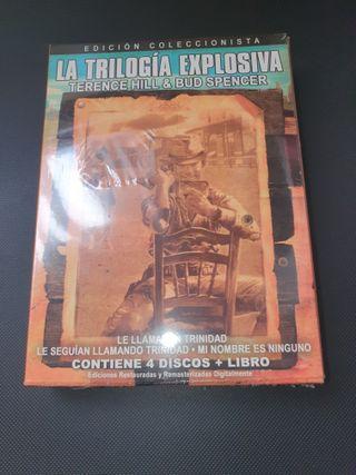 DVD - Trilogía Explosiva - T. Hill & B. Spencer