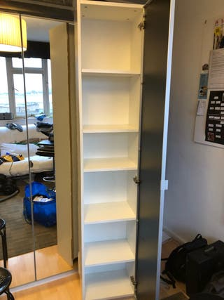 Billy bookcase with door Morliden