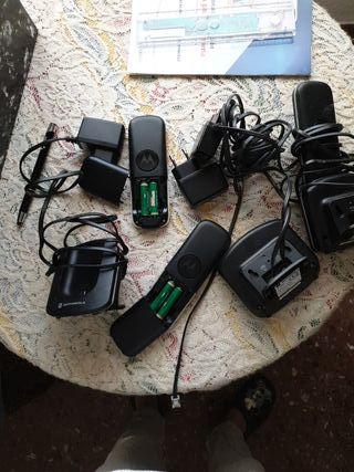 TELEFONOS INALAMBRICOS MOTOROLA 3