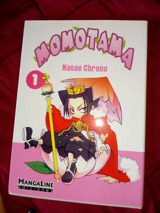 Cómic Manga Momotama
