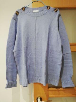 Jersey nuevo de mujer 50%lana/acrilico.talla xl