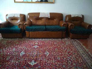 sofá cama de 3 plazas más dos sillones
