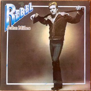 """JOHN MILES """"REBEL"""" LP"""