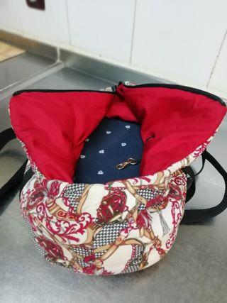 bolsa mascota mini o gato de viaje o paseo