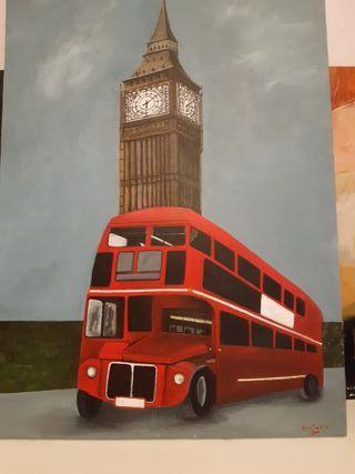 cuadro Londres,