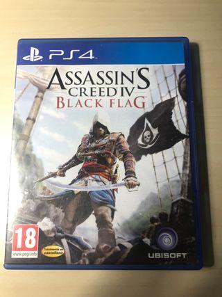 ASSASSIN'S CREED BLACK FLAG para PS4